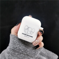 暴力熊AirPods保护套kaws苹果AirPods2代保护壳无线蓝牙耳机硅胶套airpod配件盒i Airpods