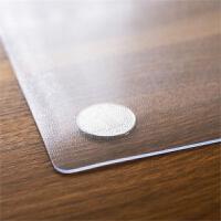 餐桌布台布透明塑料板桌垫水晶板铺在桌面上软玻璃加厚防水保护膜