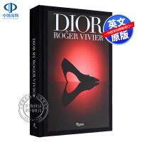 英文原版 迪奥:罗杰・维维尔 Dior by Roger Vivier 精装 时尚服装鞋类设计艺术书 服饰鞋类鞋子设计画