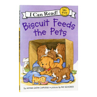 英文绘本 原版进口Biscuit Feeds the Pets I Can Read [4-8岁]