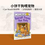 英文绘本 原版进口Biscuit Feeds the Pets I Can Read [4-8岁]