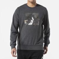 Adidas阿迪达斯 男装 运动休闲圆领卫衣套头衫 DW4602