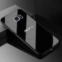 三星galaxy s6edge+手机壳玻璃女sm-g9280曲面保护套g928t软硅胶g928t全包 【三星s6edg