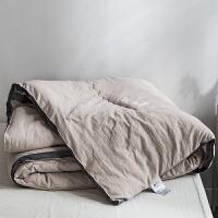 水洗棉被子加厚保暖冬被春秋薄被芯单人学生宿舍棉被褥双人太空被