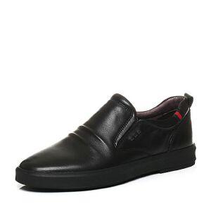 Teenmix/天美意2017秋专柜同款商务休闲英伦男鞋BKP02CM7