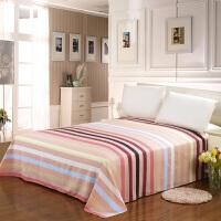 伊迪梦家纺 纯棉单品单件床单 纯棉斜纹印花面料 单人双人大小规格床家纺床上用品床护单HC316