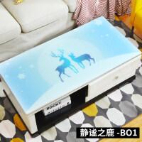 茶几桌布防水防烫欧式长方形软塑料玻璃胶垫电视柜茶几垫网红桌垫