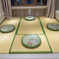 定做藤席榻榻米地垫椰棕芯床垫子定制踏踏米地台炕垫飘窗坐垫