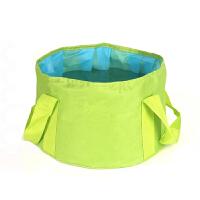 折叠盆便携式户外旅行装备小号可折叠洗脸盆旅游大号泡脚桶袋水盆
