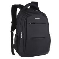 商务双肩包男 书包中学生女双肩电脑包 旅行男士背包大容量