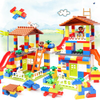 儿童兼容乐高积木玩具拼装城市汽车宝宝益智大颗粒城堡拼插1-6岁