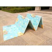 宝宝爬行垫加厚婴儿童游戏围栏地毯客厅XPE爬爬垫泡沫折叠易收纳 BABY猫+森林伙伴 长2米 宽1.5米 厚1厘米