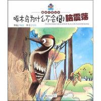 啄木鸟为什么不会得脑震荡 趣味科普绘本 寒松著,华予 绘图 金盾出版社9787518603602【新华书店 正版全新书