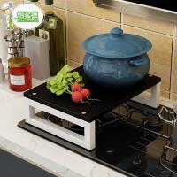 电磁炉支架子厨房置物架液化天燃气灶架煤气灶架盖板增高微波炉架