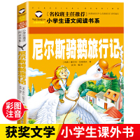尼尔斯骑鹅旅行记 彩图注音版 小学生一二三年级5-6-7-8岁语文课外世界经典儿童文学名著童话故事书