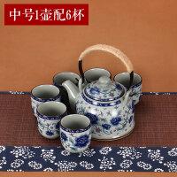 【支持礼品卡】青花瓷提梁壶过滤家用泡茶套装凉水壶茶具瓷茶壶大号 jk4
