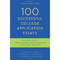 【现货】英文原版 100封成功的大学申请文书 100 Successful College Application E