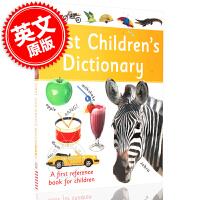 现货 DK 儿童字典词典:宝宝的**本英语字典词典参考书 英文原版 First Childrens Dictionar