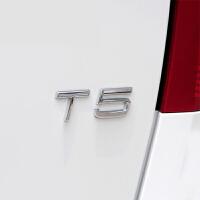 适用于沃尔沃xc60 s60l s80l v40 v60 xc90改装车标T5 T6金