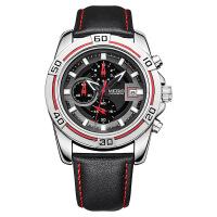 2018新款 美格尔夜光防水男士手表 多功能运动腕表