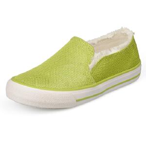 比比我春秋新款男童网鞋透气鞋运动网布鞋一脚蹬休闲鞋潮