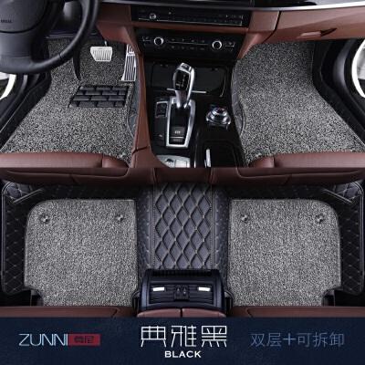 全包围汽车脚垫专用新宝马5系320li525li奔驰c200L奥迪a4Q5q3A6