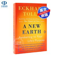 现货新世界:灵性的觉醒 艾克哈特・托勒 英文原版 Eckhart Tolle A New Earth: Awakenin