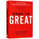 从优秀到卓越 英文原版 Good to Great 英文版进口经济管理书 基业长青作者吉姆柯林斯 Jim Collin