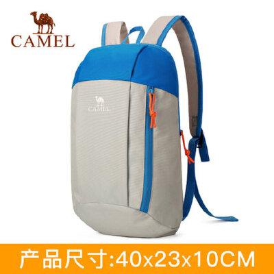 【领卷下单立减120元】CAMEL/骆驼户外双肩包 男女休闲耐磨徒步登山10L双肩背包