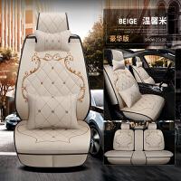 汽车坐垫座套夏季冬季新款全包围四季通用小车专用麻布艺座椅