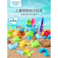 蓝宙儿童玩沙滩小铲子挖决明子宝宝洗澡游泳戏水沙漏工具玩具套装