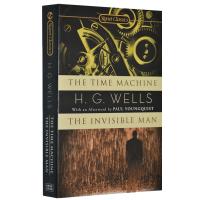 现货 时间机器 隐身人 英文版科幻小说 H・G・威尔斯 The Time Machine Invisible Man 英