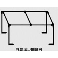 大学生宿舍床帘不锈钢支架上铺下铺女寝室床架遮光布蚊帐单人床架 其它