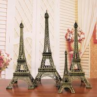 巴黎埃菲尔铁塔摆件模型创意现代简约酒柜装饰品生日礼物小工艺品