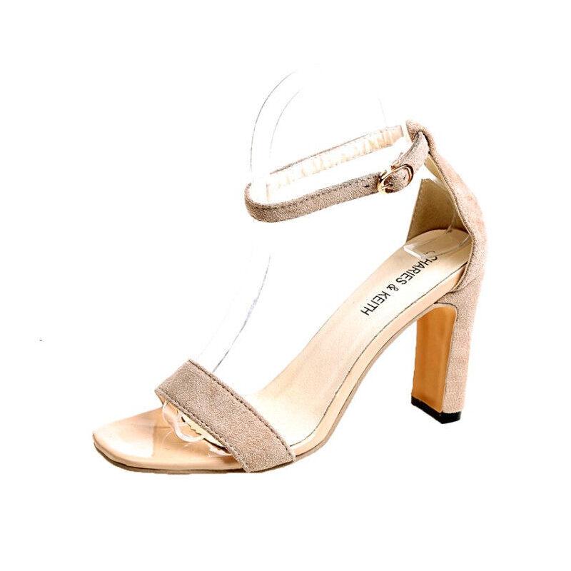 WARORWAR 2019新品YN9-2426夏季韩版高跟鞋女鞋潮流时尚潮鞋百搭潮牌凉鞋 女