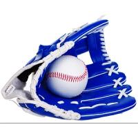 加厚 内野投手棒球手套 接球垒球手套 10.5寸儿童少年子 +硬球