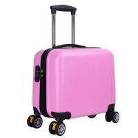 印小行李箱女18寸万向轮拉杆箱男16寸迷你旅行箱印图案箱
