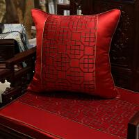 中式古典沙发坐垫仿古实木家具圈椅垫罗汉床加厚座垫定制
