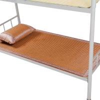 夏季可折叠冰丝藤席竹 学生宿舍凉席0.9m/1.0米双人单人床席子1.2