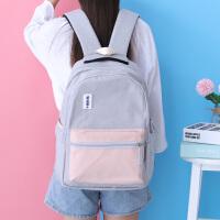 双肩包女夏季高中学生书包大容量背包
