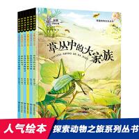奇趣动物绘本丛书(1-6)塑封共6册(套装)