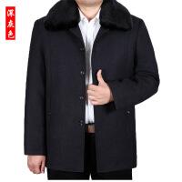 老年人男装棉衣加厚外套中老年棉袄冬季爸爸装加肥加大码爷爷