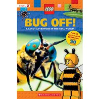 英文原版童书 Bug Off!: A Lego Adventure in the Real World 乐高LEGO科