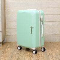 20寸学生可爱密码箱小清新行李箱女韩版28寸大容量拉杆箱男旅行箱 浅绿色 单箱
