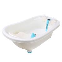 婴儿浴盆 宝宝洗澡盆婴幼儿感温澡盆新生儿洗澡桶 儿童大号沐浴盆