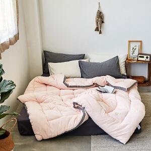 日式水洗棉被冬被加厚保暖被子被芯双人棉被单人学生宿