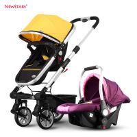 20180826110244790高景观婴儿推车可躺可坐高端双向推行避震宝宝四轮手推车