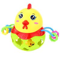婴儿手抓球软胶触感球3宝宝抠扣洞洞玩具0-12个月18触觉感知6 抖音