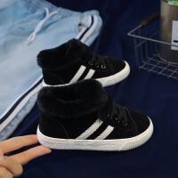儿童棉鞋男童2018新款韩版潮百搭冬鞋冬季鞋子加绒加厚女童二棉鞋