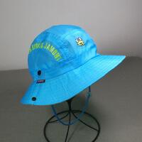 儿童帽子夏天防晒遮阳帽 户外青蛙盆帽 夏令营活动旅游登山帽